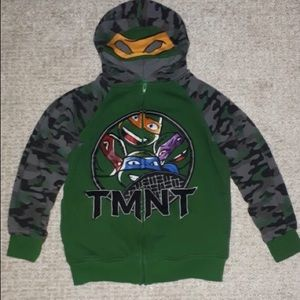 TMNT Hoodie With Mask